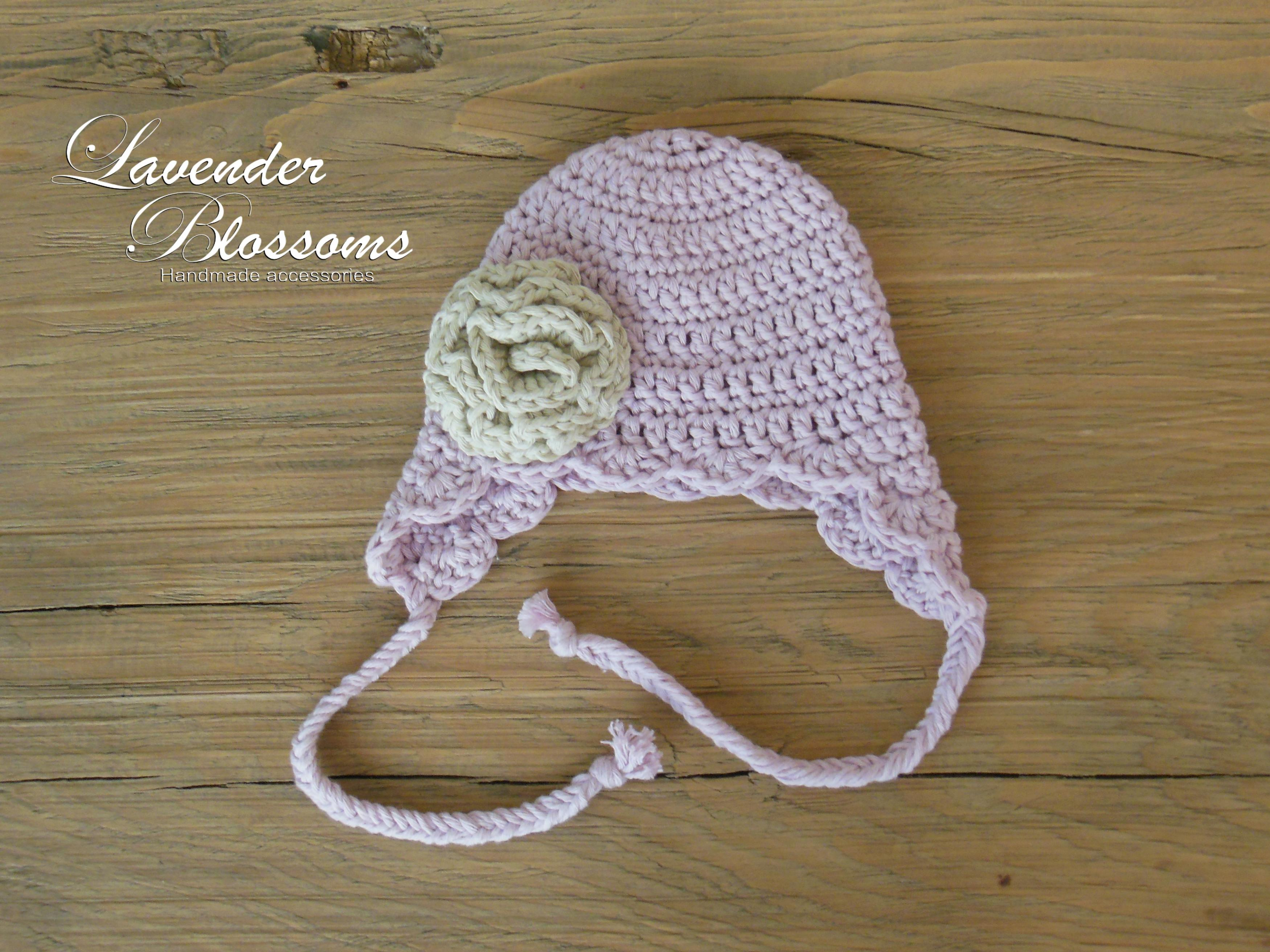 252c934cf5c Baby Girl Hat Crochet Newborn Hat Baby Beanie With Flower Cotton Baby Hat  on Luulla